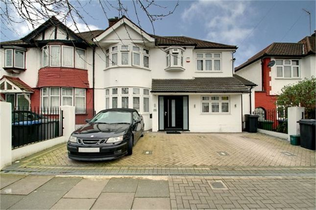 Thumbnail Semi-detached house for sale in Park Avenue North, London