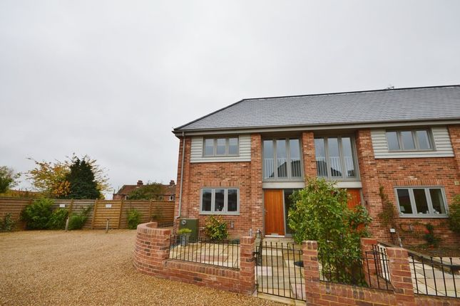 Thumbnail End terrace house to rent in Glebe Court, Snape, Saxmundham