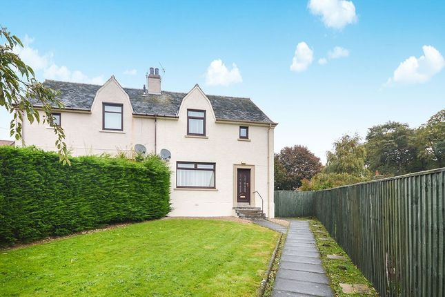 Thumbnail Semi-detached house to rent in Hill Terrace, Markinch, Glenrothes
