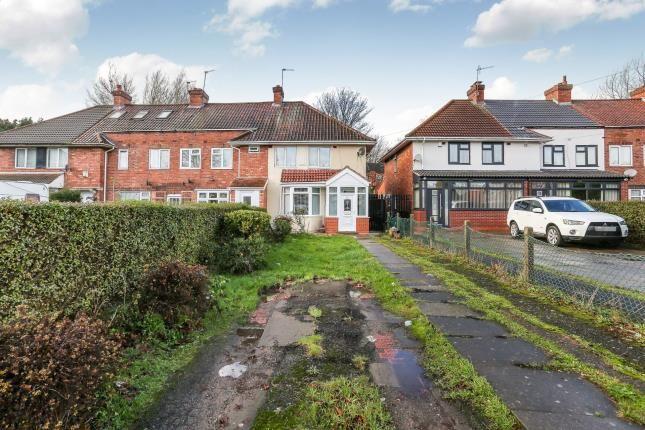 Thumbnail End terrace house for sale in Botha Road, Bordesley Green, Birmingham, West Midlands