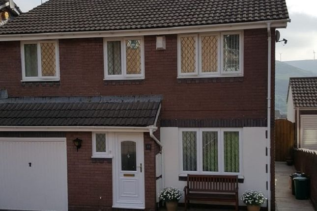 Thumbnail Semi-detached house for sale in Dinam Park, Ton Pentre, Pentre, Rhondda, Cynon, Taff.