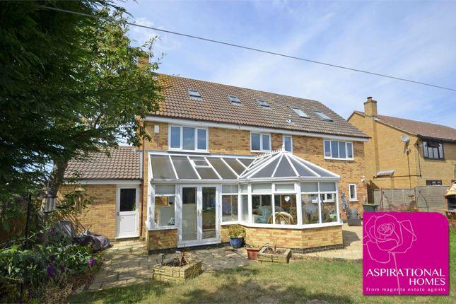 Thumbnail Detached house for sale in Restormel Close, Rushden, Northamptonshire