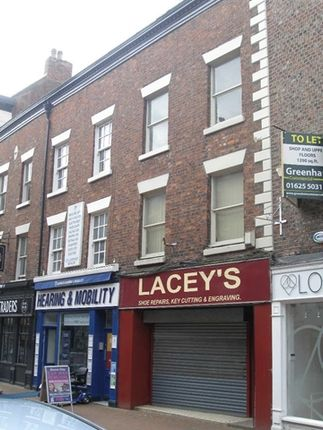 Thumbnail Retail premises to let in Shop To Rent Chestergate, Macclesfield Cheshire