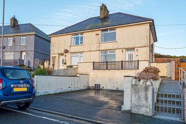3 bed semi-detached house for sale in Maes Y Mynydd, Holyhead LL65