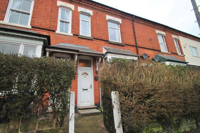 Terraced house in  Grange Road  Kings Heath  Birmingham  Birmingham