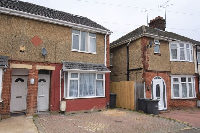 Thumbnail End terrace house for sale in Newark Road, Luton
