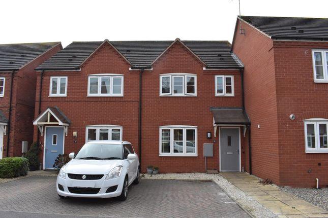 3 bedroom terraced house for sale in Furrowfield Park, Tewkesbury