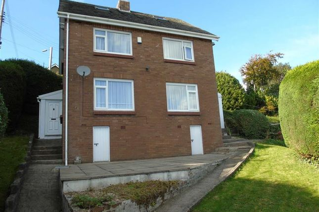 Thumbnail Detached house for sale in Cedar Roofs, Pleasant View, Llanelli