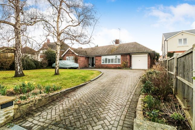 Thumbnail Detached bungalow for sale in Middle Street, Nazeing, Waltham Abbey