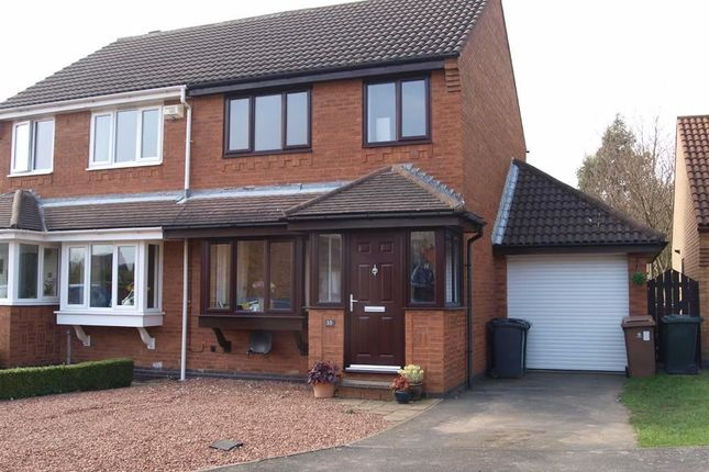 Thumbnail Semi-detached house to rent in Woodcroft Close, Annitsford, Cramlington