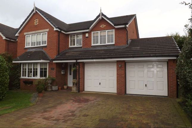 Thumbnail Detached house for sale in Chartwell Grove, Darnhall, Winsford