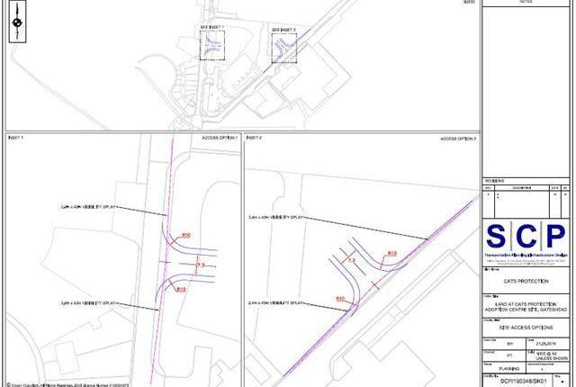 Thumbnail Land for sale in Bath Road, Gateshead, Tyne And Wear