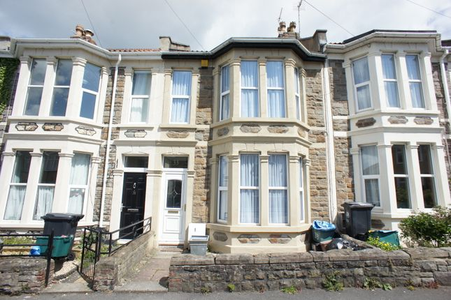 Thumbnail Terraced house to rent in Queens Road, St. George, Bristol