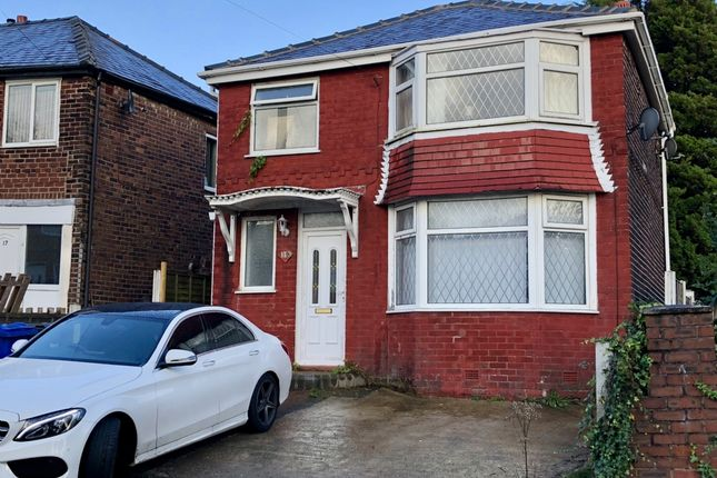 Thumbnail Detached house for sale in Holyrood Road, Prestwich, Manchester