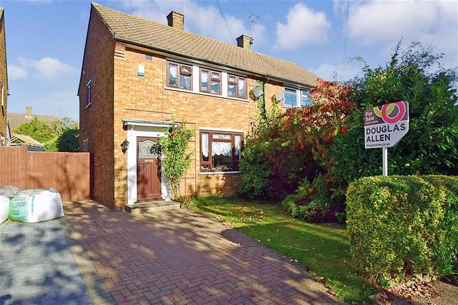 Thumbnail Semi-detached house for sale in Rayleigh Road, Hutton, Brentwood, Essex