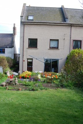 Thumbnail End terrace house for sale in West Street, Johnshaven, Montrose