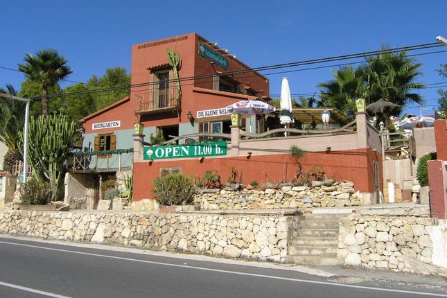 Commercial property for sale in Moraira, Alicante, Spain
