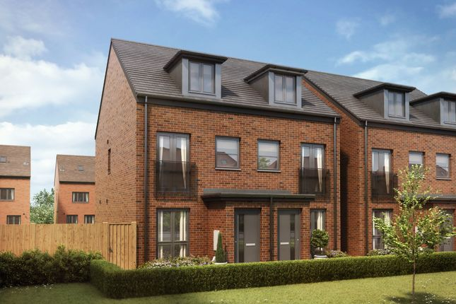 """Thumbnail Semi-detached house for sale in """"The Souter"""" at Shepherds Green Road, Shirley, Solihull"""