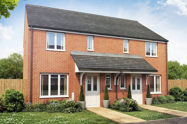 Thumbnail Semi-detached house for sale in Ward Road, Clipstone Village, Mansfield
