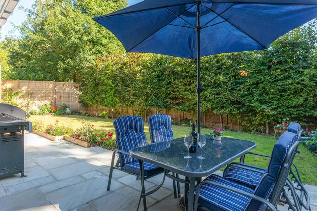 Rear Patio of Forest Road, East Horsley, Leatherhead KT24