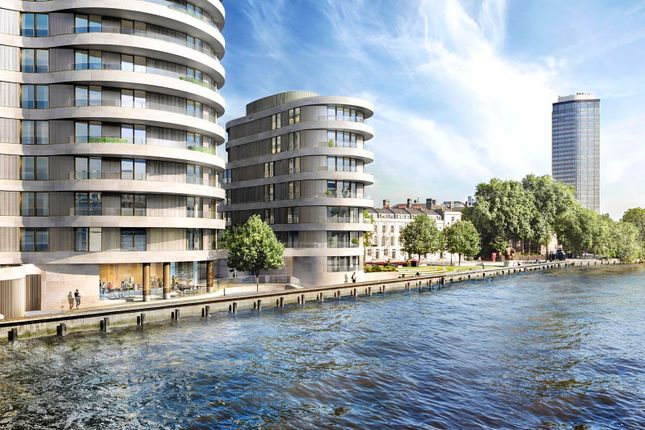 Thumbnail Flat for sale in Riverwalk, Millbank, London