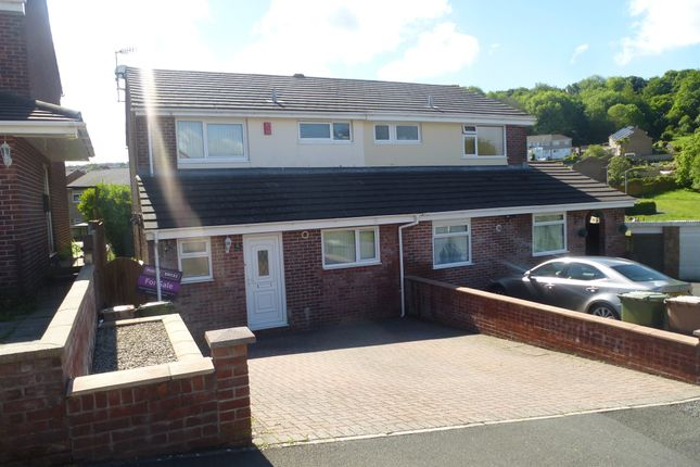 Thumbnail Semi-detached house for sale in Robyns Close, Plympton, Plymouth