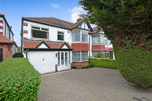 Thumbnail Semi-detached house for sale in Blockley Road, North Wembley, Middlesex