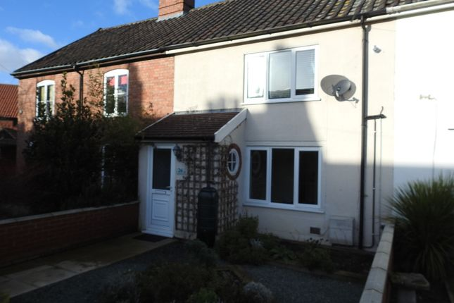 Thumbnail Terraced house to rent in Central Road, Leiston