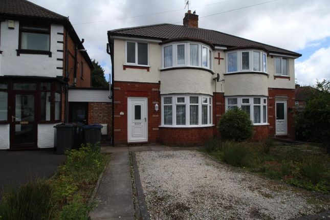Thumbnail Semi-detached house to rent in Middle Meadow Avenue, Quinton, Birmingham
