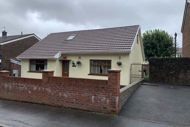 Thumbnail Bungalow for sale in Llwyncelyn Close, Ynysfach, Merthyr Tydfil