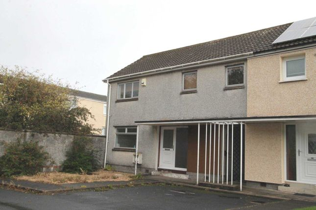 Thumbnail End terrace house to rent in Heron Place, Johnstone
