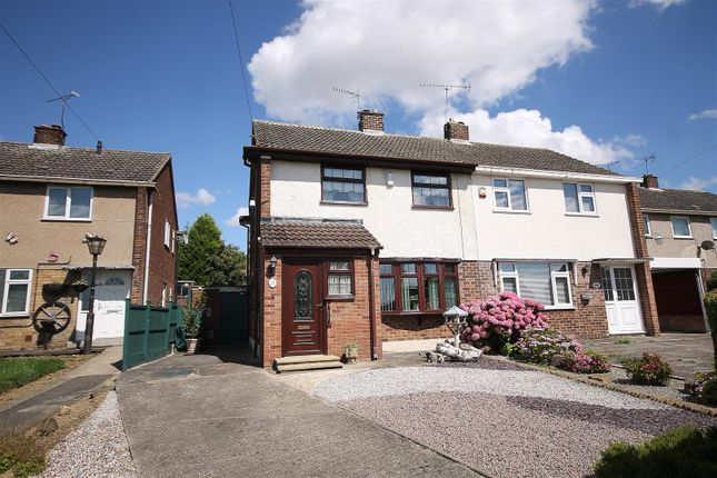 Thumbnail Semi-detached house for sale in Bainbridge Road, Bolsover, Chesterfield