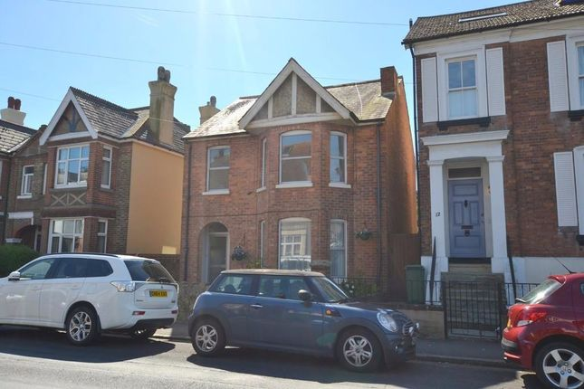 Thumbnail Flat to rent in Seabrook Road, Hythe