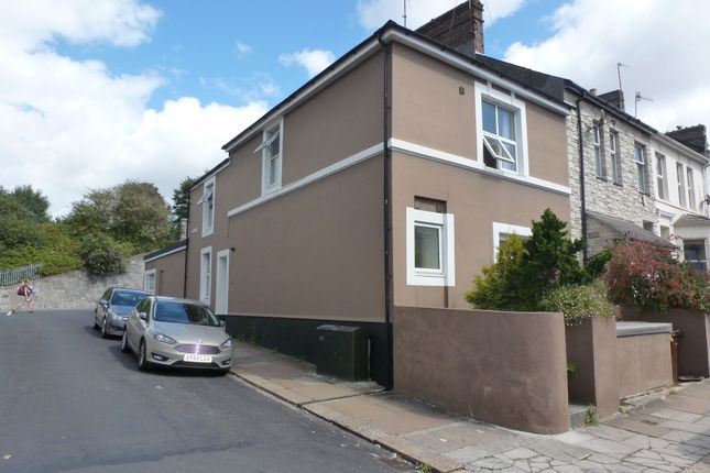 Thumbnail End terrace house for sale in Chudleigh Road, Plymouth, Devon