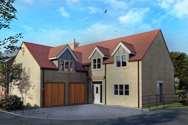 Thumbnail Detached house for sale in The Blacksmiths Gardens, Main Road, Leadenham, Lincolnshire