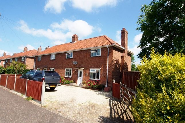 Thumbnail Semi-detached house for sale in West Way, Tacolneston, Norwich