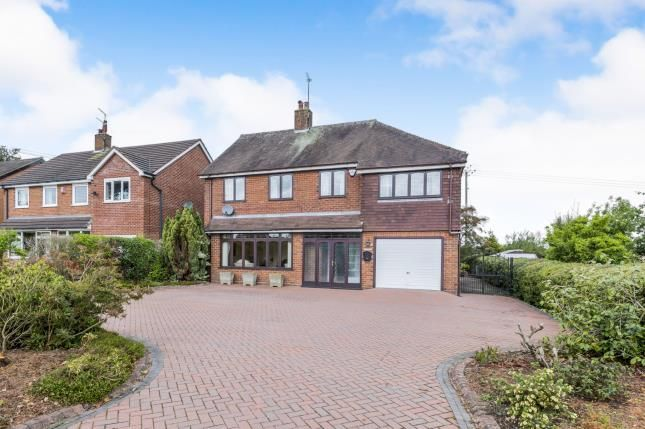 Thumbnail Detached house for sale in Bar Hill, Madeley, Crewe, Cheshire