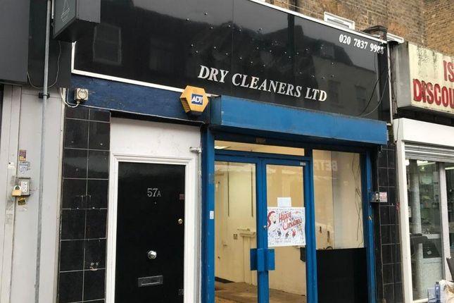 Thumbnail Retail premises for sale in 57 Chapel Market, London