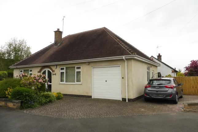 2 bed detached bungalow for sale in Valjean Crescent, Kirby Muxloe, Leicester
