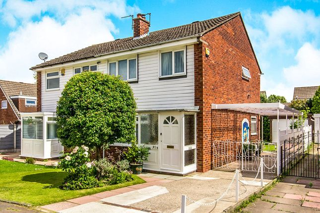 Thumbnail Semi-detached house for sale in Rosslare Road, Wythenshawe, Manchester