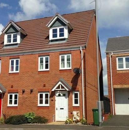 Thumbnail End terrace house to rent in Carnation Way, Nuneaton, Warwickshire