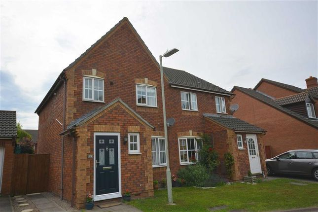Thumbnail Semi Detached House For Sale In Spey Close Quedgeley Gloucester