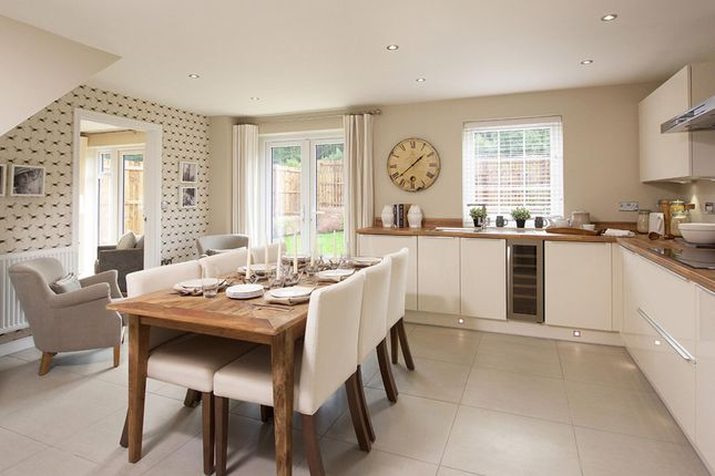 "Thumbnail Detached house for sale in ""Mitchell"" at Blackberry Walk, London Road, Cirencester"