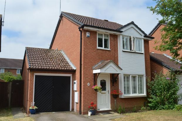 Thumbnail Detached house for sale in Bromford Close, Little Billing, Northampton