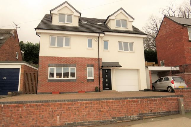 4 bed detached house for sale in Handley Road, New Whittington, Chesterfield