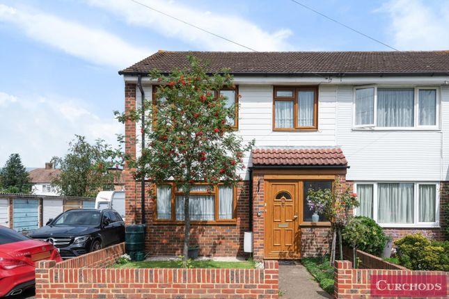 Thumbnail End terrace house for sale in Roseacre Close, Shepperton