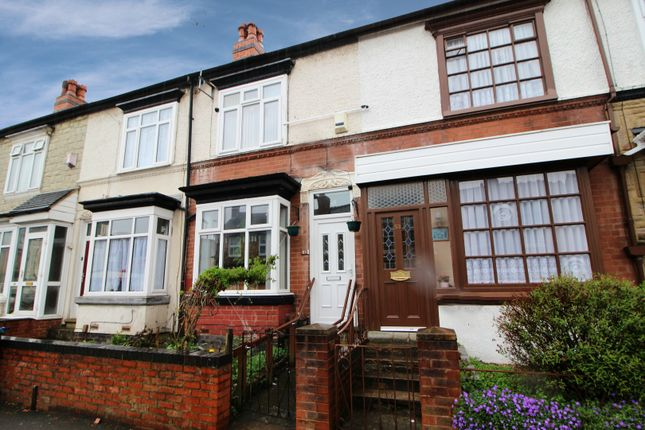 Thumbnail Terraced house for sale in Grange Road, Birmingham, West Midlands
