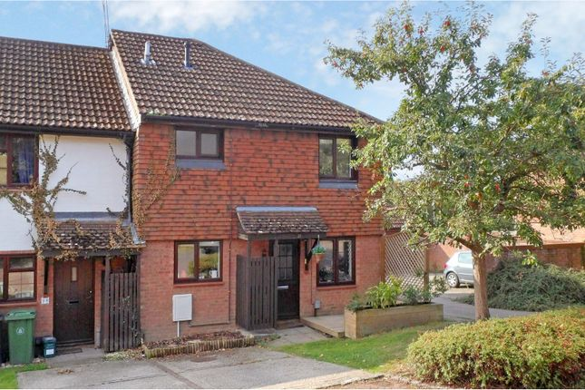 Thumbnail End terrace house for sale in Heather Mead, Frimley