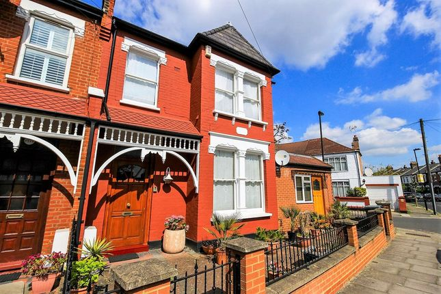 Thumbnail End terrace house for sale in Boundary Road, London
