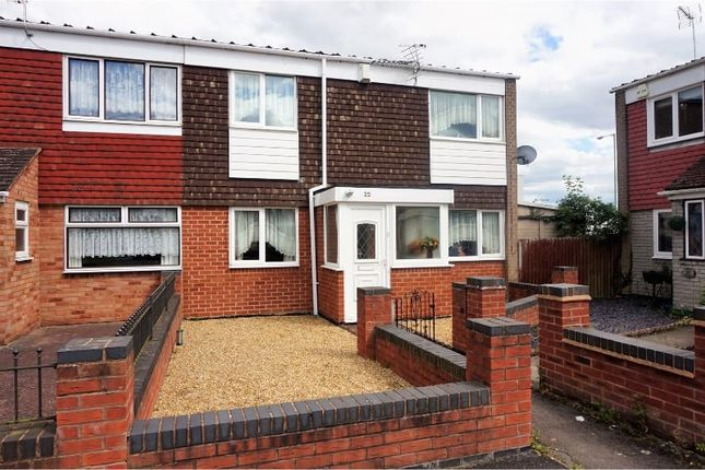 Thumbnail End terrace house for sale in Coleford Drive, Birmingham